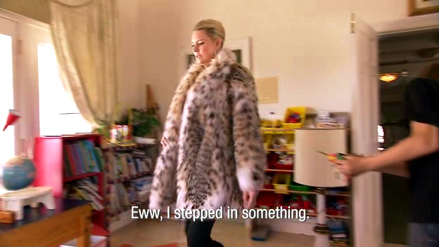 Screenshot from the documentary The Queen of Versailles